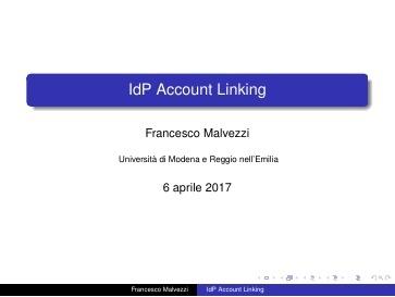 Presentazione F.Malvezzi