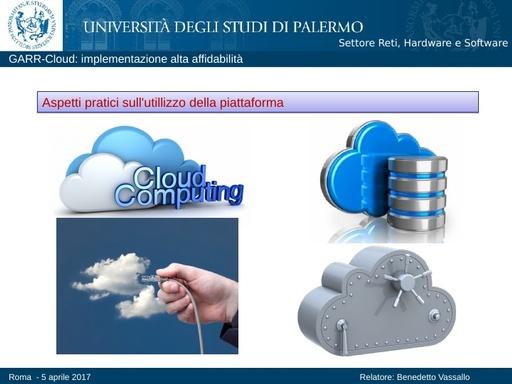 Presentazione B.Vassallo - GDL Cloud