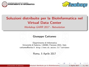 Presentazione G.Cattaneo  - GDL Cloud